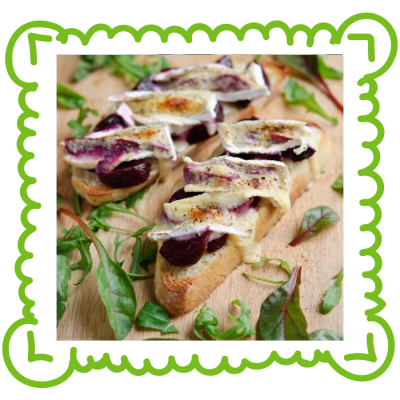 Beetroot-Melted-Brie-on-toast